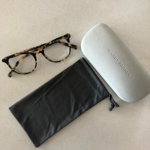 WARBY PARKER LimitedEd Durand Green Tortoise Shell